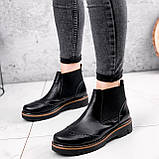 Ботинки женские Malory черные ЗИМА 2384, фото 3