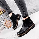 Ботинки женские Malory черные ЗИМА 2384, фото 2