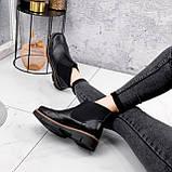 Ботинки женские Malory черные ЗИМА 2384, фото 4