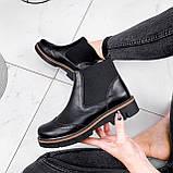 Ботинки женские Malory черные ЗИМА 2384, фото 5