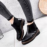 Ботинки женские Malory черные ЗИМА 2384, фото 8