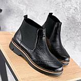 Ботинки женские Malory черные ЗИМА 2384, фото 7