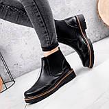 Ботинки женские Malory черные ЗИМА 2384, фото 6