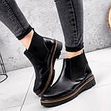 Ботинки женские Malory черные ЗИМА 2384, фото 9