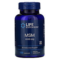МСМ 1000 мг Life Extension, 100 капсул
