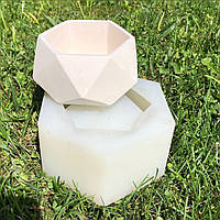 Силиконовая форма (mold) для кашпо