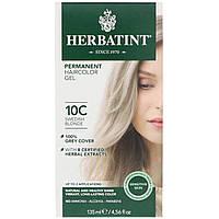 Herbatint, Перманентная гель-краска для волос, 10С, шведский блонд, 135 мл