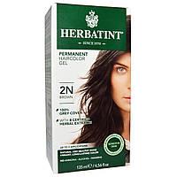 Herbatint, Перманентная краска-гель для волос, 2N, коричневый, 135 мл