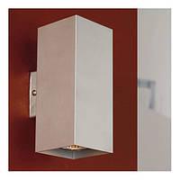 Декоративный настенный алюминиевый светильник Eglo Madras 2x50Вт GU10