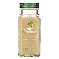 Чеснок (порошок) Simply Organic, чесночный порошок, 103 г