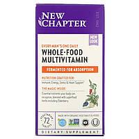 Ежедневные витамины для мужчин New Chapter, мультивитамин, 72 табл., фото 1