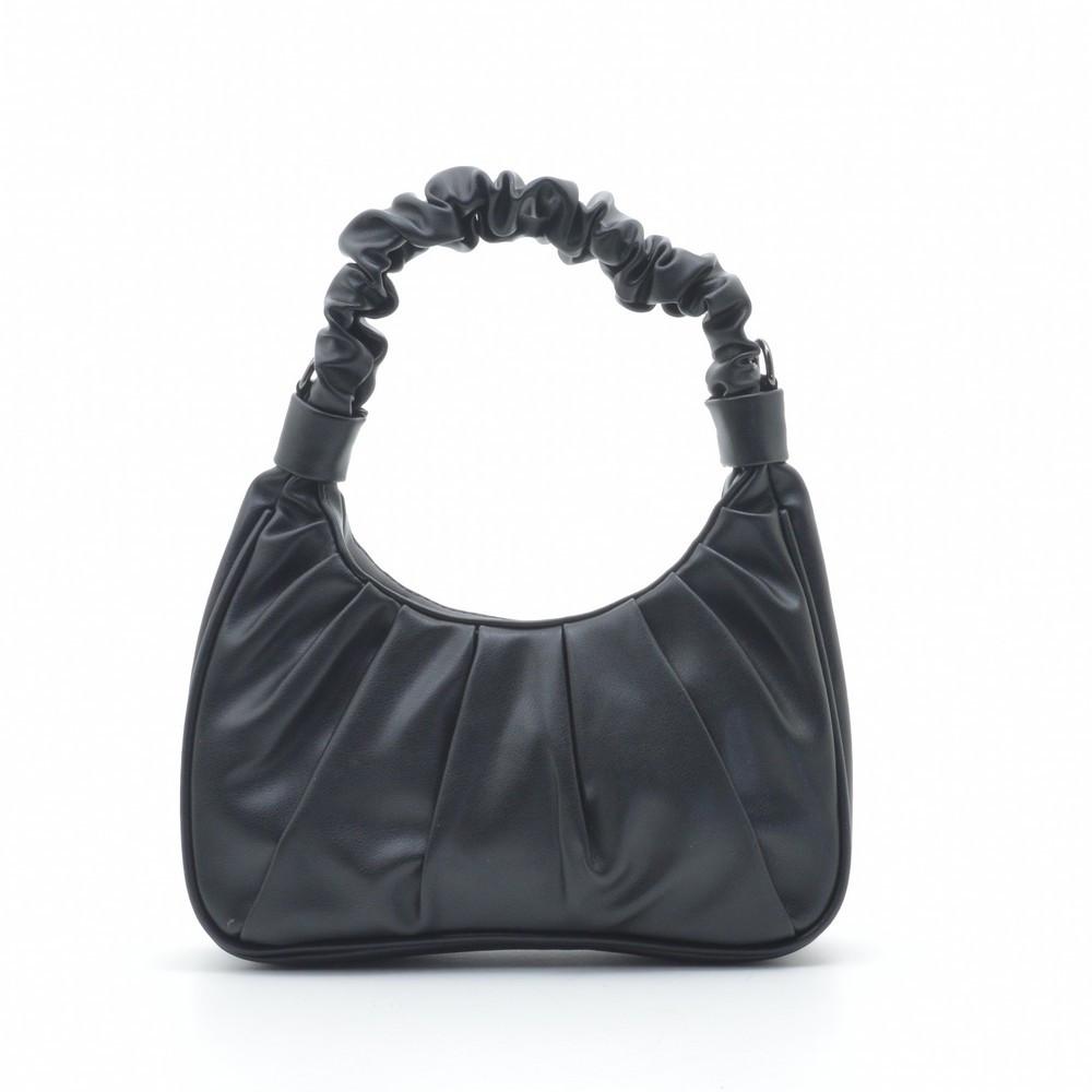 Клатч сумка кожзам Y8007 черная