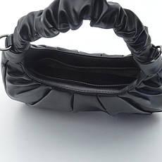 Клатч сумка кожзам Y8007 черная, фото 3