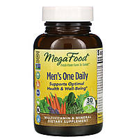 MegaFood, Men's One Daily , 30 Tablets, фото 1