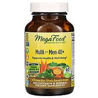 MegaFood, Мультивитамин для мужчин от 40 лет, 60 таблеток