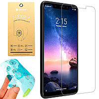 Гибкое защитное стекло для Xiaomi Redmi Note 6 Pro