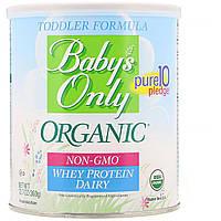 Детская молочная смесь органическая Nature's One, Toddler Formula, без ГМО, с пшеничным протеином, 360 г