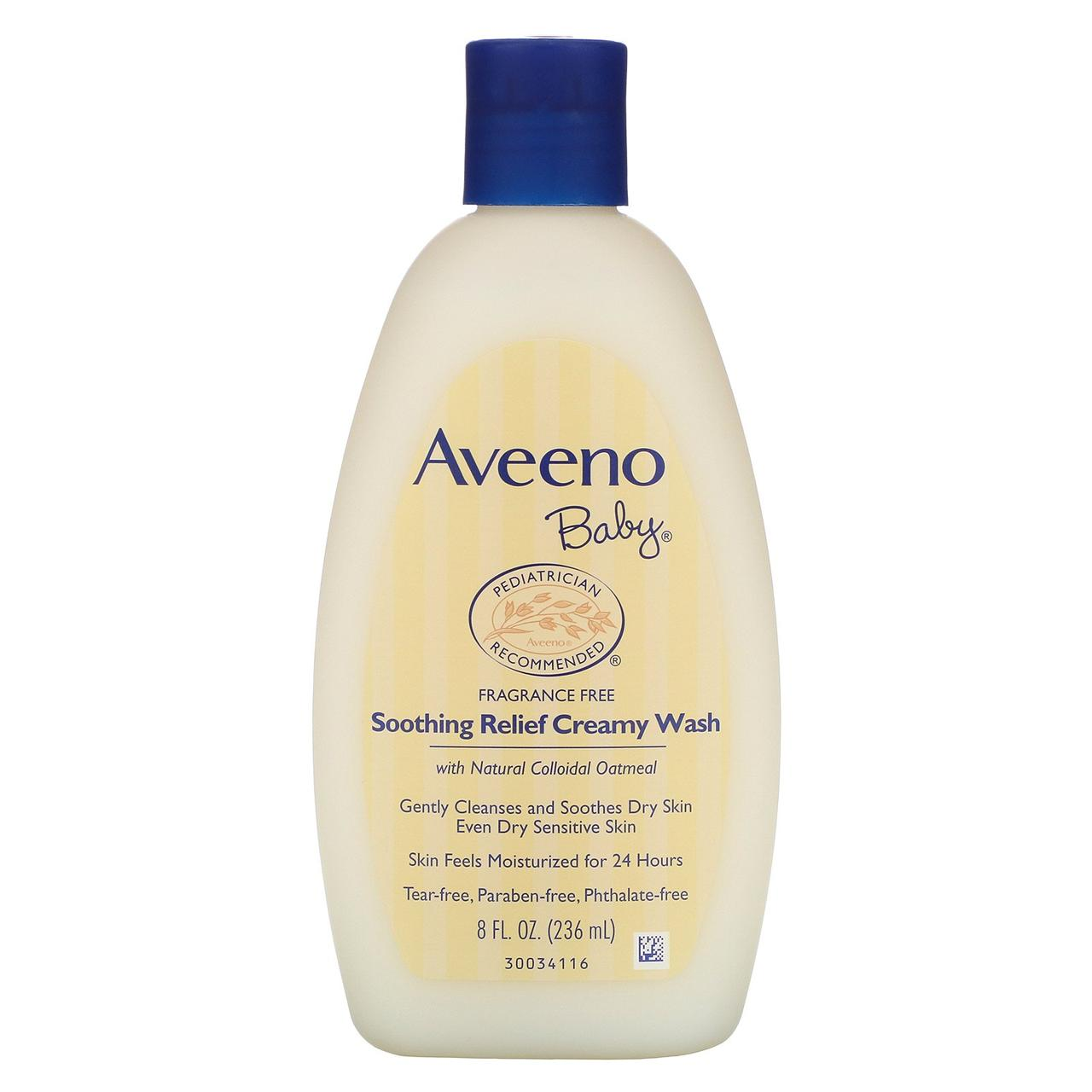 Успокаивающий крем-гель без ароматизаторов для детей от Aveeno, 236 мл