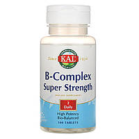 """Комплекс витаминов B """"Суперсила"""" от KAL, 100 таблеток, фото 1"""