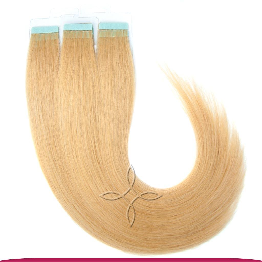 Натуральные Славянские Волосы на Лентах 50 см 100 грамм, Светло-Русый №14