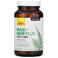 Комплекс для роста волос Country Life, Maxi Hair Plus, 120 капсул