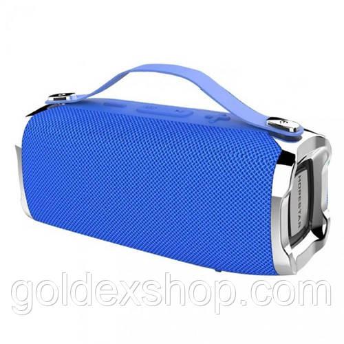 Музыкальная колонка блютуз HOPESTAR-H36, StrongPower, c функцией speakerphone, радио, blue