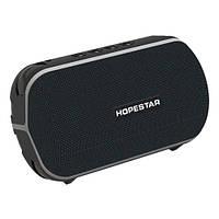 Музыкальная колонка блютуз HOPESTAR-T6 MINI, StrongPower, c функцией speakerphone, радио, PowerBank, black, фото 1