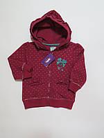 Кофта с капюшоном для девочек Zeplin (начёс)98-104р