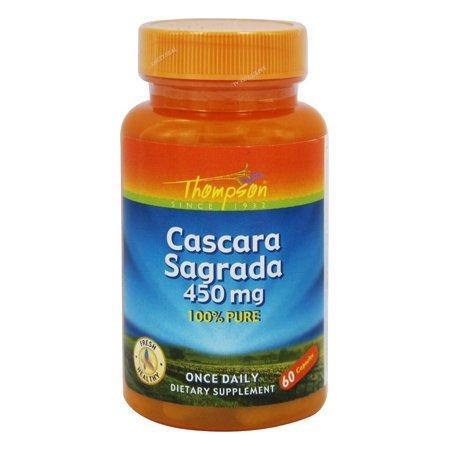 Thompson Cascara Sagrada Крушина американская-слабительное 450 мг, 60 капс