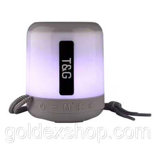 Музыкальная колонка блютуз SPS UBL TG156, c функцией speakerphone, радио, grey