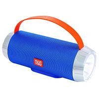 Музыкальная колонка блютуз SPS UBL TG501, c функцией speakerphone, радио, blue