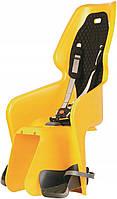 Велокресло Bellelli LOTUS Италия на багажник желтый