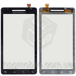 Touchscreen (сенсорный экран) для Motorola Droid 2 A955, черный, оригинал