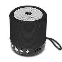 Портативная bluetooth колонка MP3 плеер WSTER WS-631 BLC Black (2406)