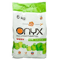 Стиральный порошок без фосфатов Onyx универсальный, 6 кг
