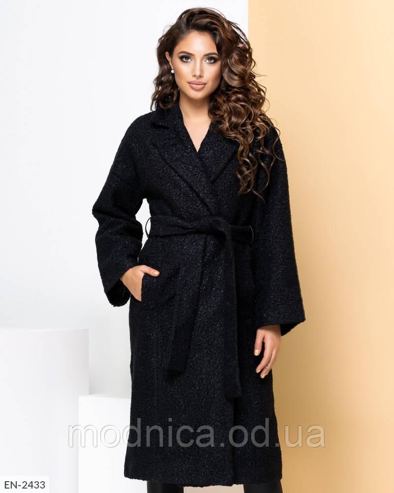 Осіннє жіноче шерстяне пальто, розмір 42-46