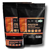 Протеин сывороточный 4 КГ + в подарок креатин