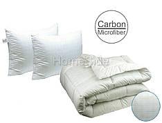 Одеяло с карбоновая нитью 200х220 евро + 2 подушки 50х70 Anti-stress