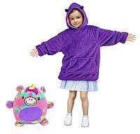 Детский худи-трансформер (толстовка) Huggle Pets (Единорог)