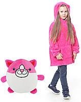 Детский худи-трансформер (толстовка) Huggle Pets (Кошечка)