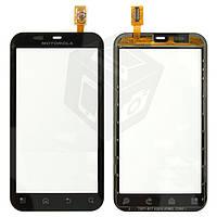 Touchscreen (сенсорный экран) для Motorola Defy MB525/Defy Plus MB526, черный, оригинал