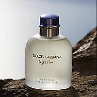 Dolce Gabbana Light Blue Pour Homme Туалетная вода 125 ml Дольче Габбана Лайт Блу Блю Пур Хом 125 мл Мужской