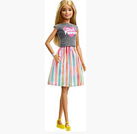 Кукла Barbie Carriera Super Bionda original Mattel с сюрпризом А-21, КОД: 1822451