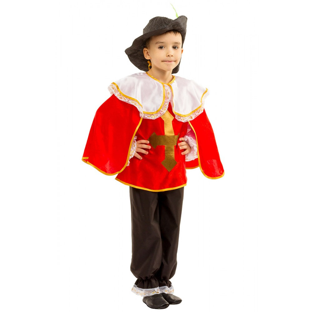 Детский маскарадный костюм Мушкетера для мальчика