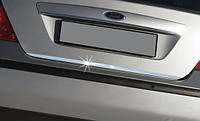 FORD FOCUS накладка нижньої кромки кришки багажника (нерж) (Sedan)