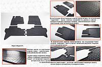 Mitsubishi Pajero Wagoon гумові килимки Stingray Premium