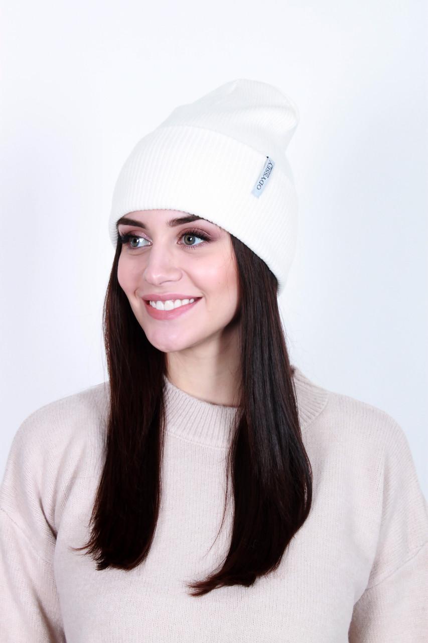 Шапка  женская Найджи белая One size (555-1)