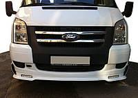 Ford Transit 2006-2014 Накладка на передній бампер DRL