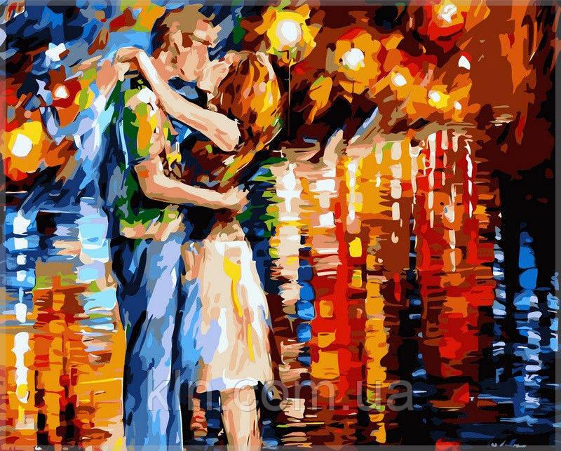 Картина по номерам Babylon Прощальный поцелуй худ. Афремов VP079 40 х 50 см