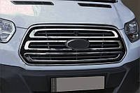 Ford Transit 2014-2018 Обведення решітки 2 шт OmsaLine